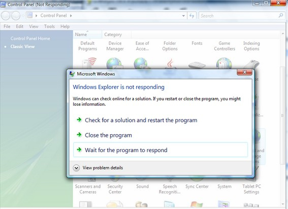 Cara Mengatasi Windows Error Program Not Responding