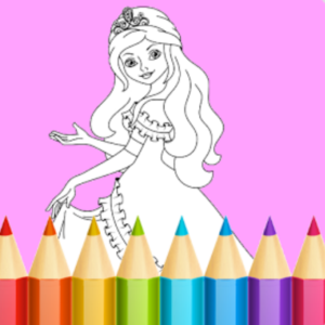 coloring-princess