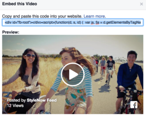 Embed Video dari Facebook
